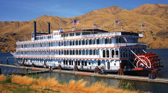 American Cruise Line's recently refurbished Queen of the West recently returned to the Columbia and Snake rivers in the Pacific Northwest. Photo courtesy of American Cruise Lines.