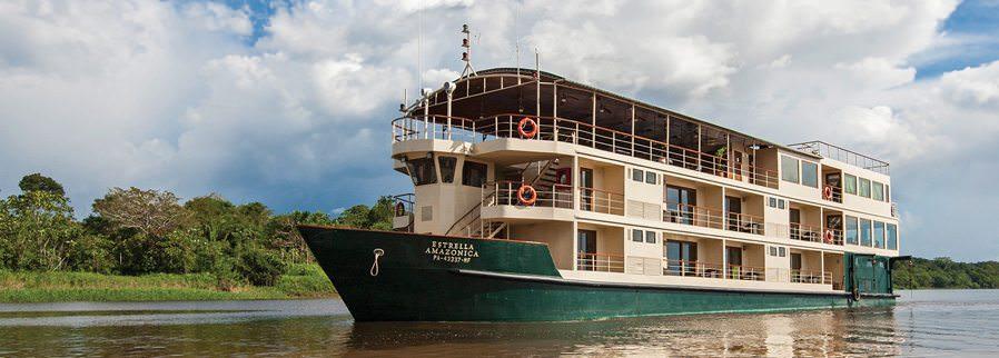 International Expeditions' new La Estrella Amazonica. Photo courtesy of International Expeditions.