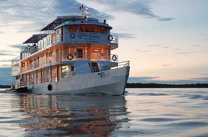 The new Queen Violeta is utilized by G Adventures for their Amazon itineraries. Photo courtesy of G Adventures.