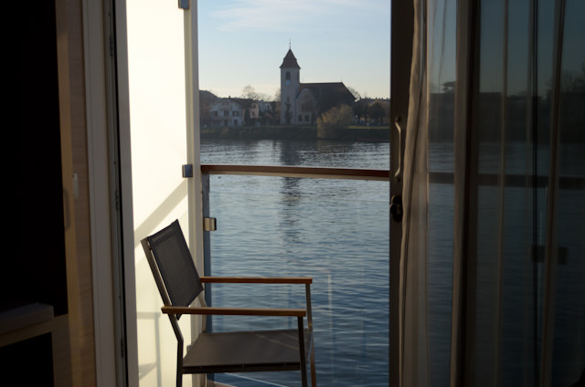 Priceless: the view of Basel from my step-out balcony. Photo © 2013 Aaron Saunders