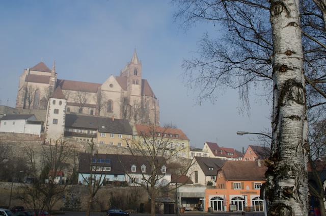 Exploring a foggy Breisach this afternoon. Photo © 2013 Aaron Saunders