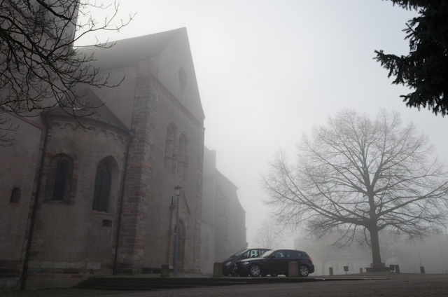 The ghostly Munster St. Stephan. Photo © 2013 Aaron Saunders