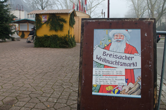 The Breisach Christmas Market is small, but far from dull. Photo © 2013 Aaron Saunders