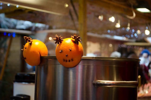 Hot Gluhwein awaits customers! Photo © 2013 Aaron Saunders
