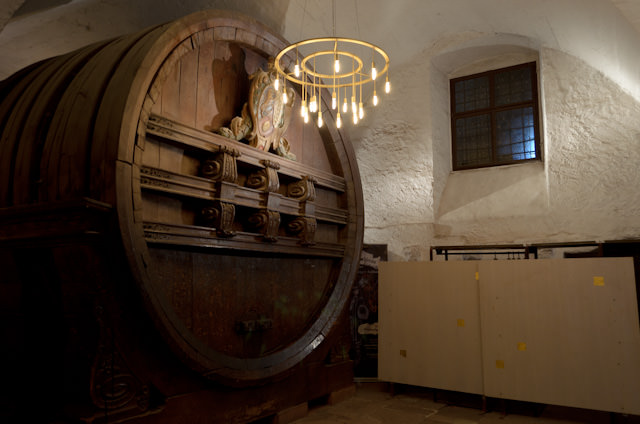 Heidelberg Castle is also home to what is reportedly the largest barrel of wine in Europe. Who's thirsty? Photo © 2013 Aaron Saunders