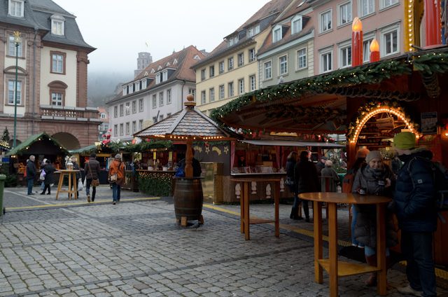 Few things are quite as wonderful as Europe's Christmas Markets, like this one in Heidelberg, Germany. Photo © 2013 Aaron Saunders