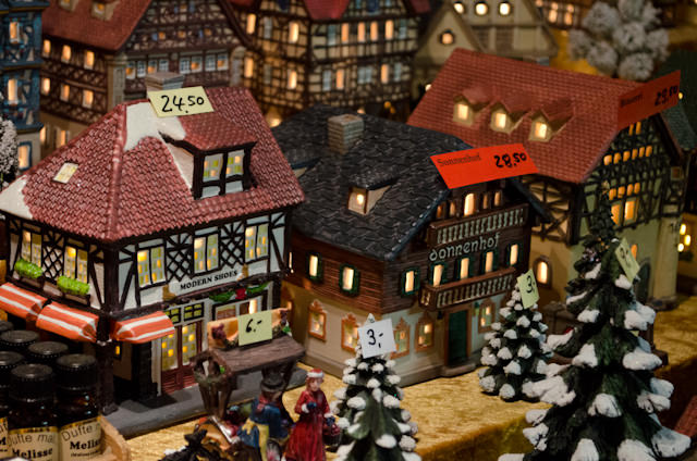 Plenty of wares from around the world could be purchased at Rudesheim's numerous Christmas Markets. Photo © 2013 Aaron Saunders
