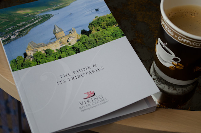 Keep track of your journey with Viking's handy guide to the Rhine! Photo © 2013 Aaron Saunders