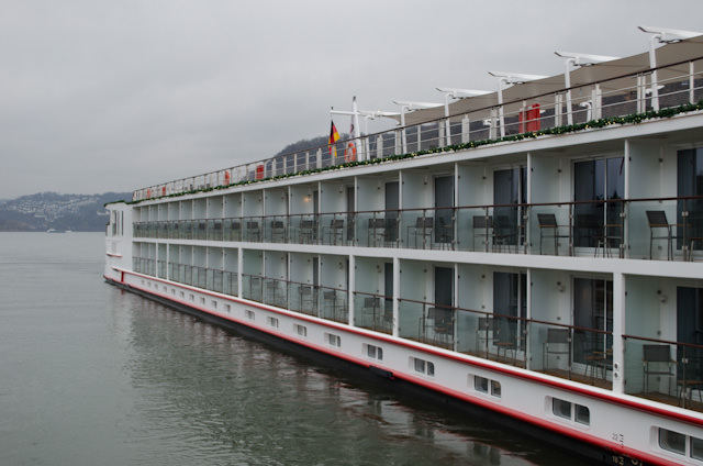 Don't underestimate booking one of Viking's staterooms featuring a full, step-out balcony; I've used mine more than I would have expected on this wintery journey! Photo © 2013 Aaron Saunders