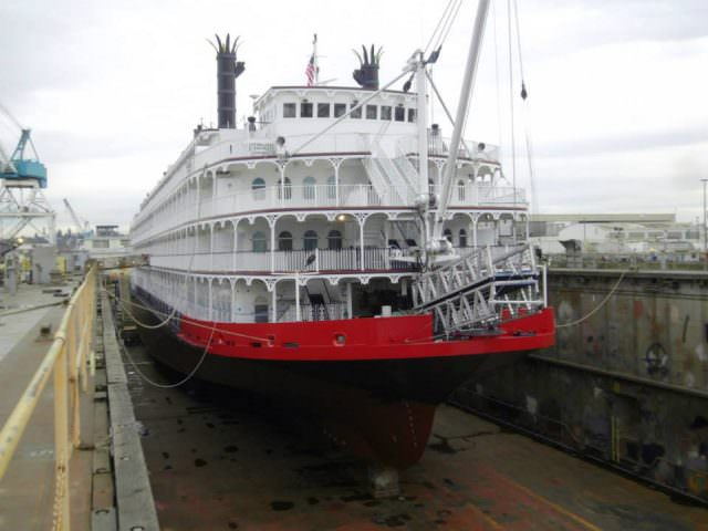 A New Lease on Life: the former Empress of the North will enter service this April as American Empress. Photo courtesy of American Queen Steamboat Company.