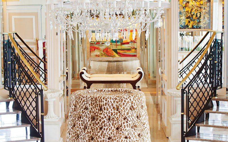 The lavish interiors aboard Uniworld's River Countess reflect the line's grand, opulent style. Photo courtesy of Uniworld Boutique River Cruise Collection.