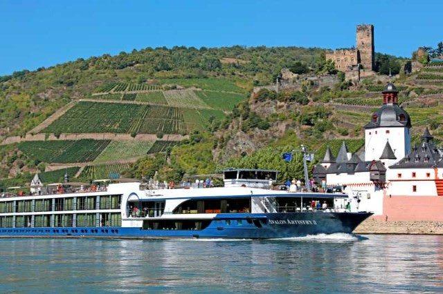 Avalon Artistry II sailing along the Rhine. Photo courtesy of Avalon Waterways.