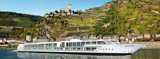 CroisiEurope's Lafayette will enter service in April of this year along the Rhine. Rendering courtesy of CroisiEurope