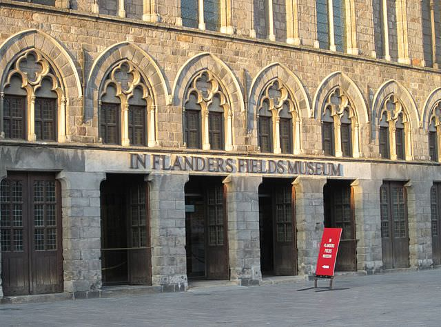 Our Tauck Exclusive Tour will take us to the In Flanders Fields museum in Belgium. Photo courtesy of Wikipedia / Creative Commons