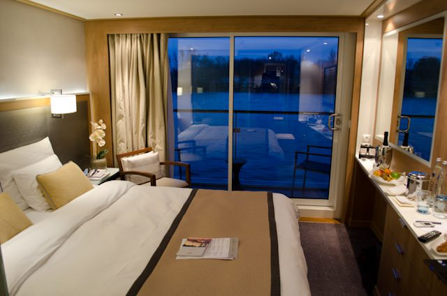 How times have changed: the spacious Category A staterooms aboard Viking's new Viking Longships are bright, modern and invite guests to linger. Photo ©  Aaron Saunders