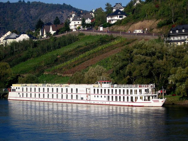 Peter Deilmann's Heidelberg. The line - which had been offering river cruises since 1983 - now focuses on ocean cruising aboard the MS Deutschland. Photo © Ralph Grizzle.