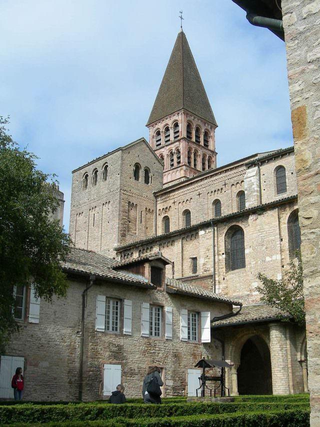 Tournus, from the courtyard. © courtesy Wikipedia
