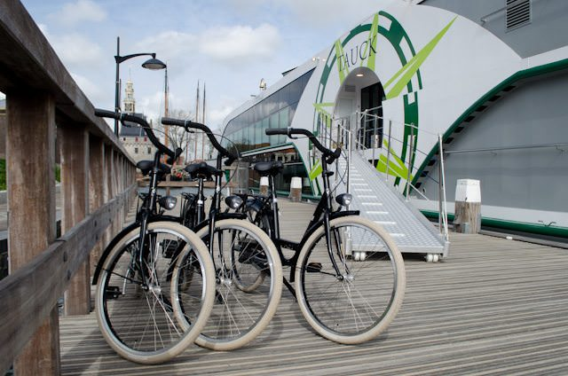 Cycle your way through Europe on your next river cruise! Photo ©  2014 Aaron Saunders