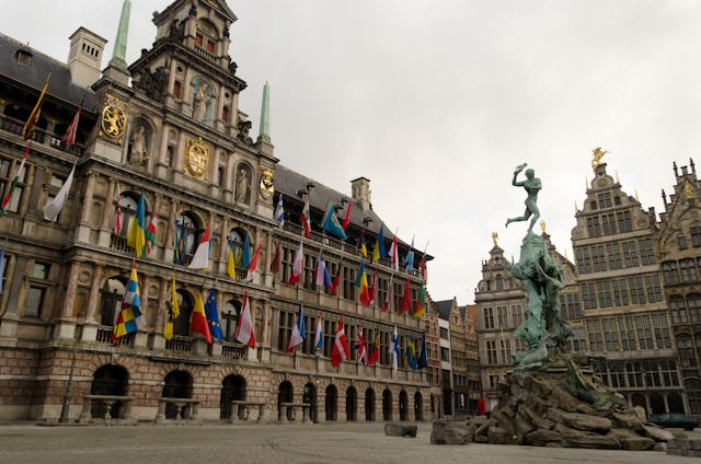 Fred. Olsen's 'river cruise' voyages will call on popular European ports of call, such as Antwerp, pictured above. Photo © 2014 Aaron Saunders