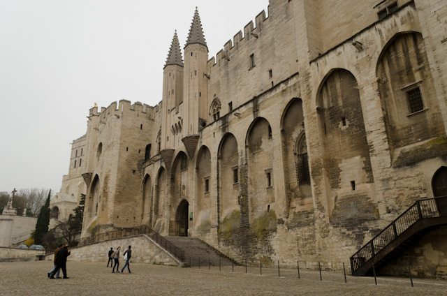 The Palace of the Popes in Avignon - one of Viking's turnaround ports of call. Photo © 2014 Aaron Saunders