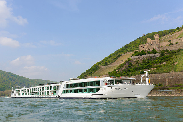 In July, we'll join the brand-new Emerald Sky for a trip along the Danube from Budapest to Nuremberg. Photo courtesy of Emerald Waterways
