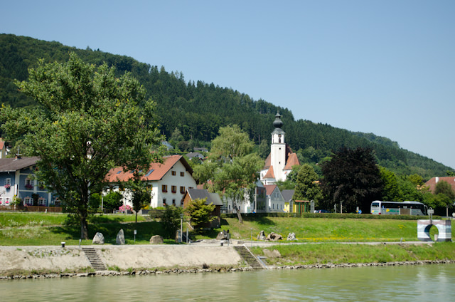 Temperatures soared by midday, but made for some spectacular Danube scenic cruising. Photo © 2014 Aaron Saunders