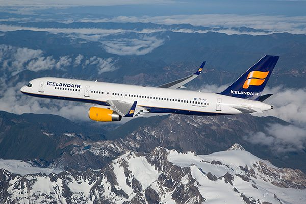 Icelandair offers a rapidly-expanding list of North American focus cities, all of which have service to Europe via Reykjavik, Iceland. Photo courtesy of Icelandair.
