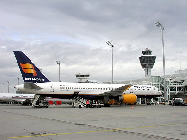 Icelandair operates a fleet of narrow-body Boeing 757 aircraft that are equipped with video-on-demand at every seat. Photo courtesy of Icelandair