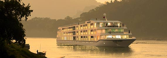 Scenic Spirit on the Mekong River 2016. Photo courtesy of Scenic Tours.