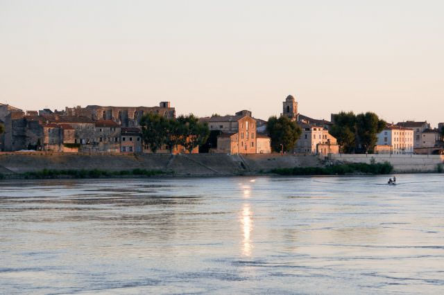 Arles at sunset. © 2013 Ralph Grizzle