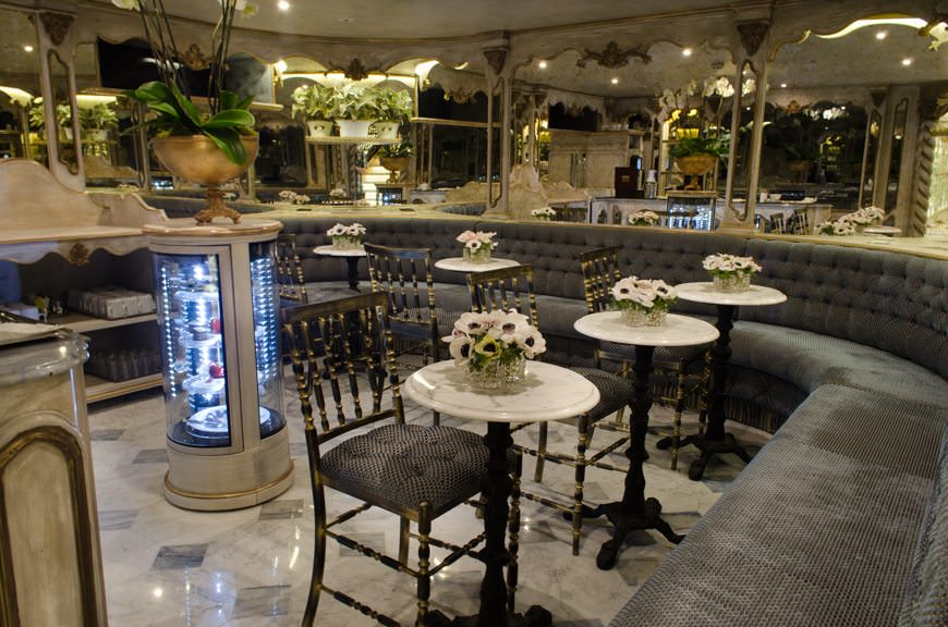 The S.S. Maria Theresa even features a Viennese-style Cafe on Bavarian Deck. Photo © 2015 Aaron Saunders