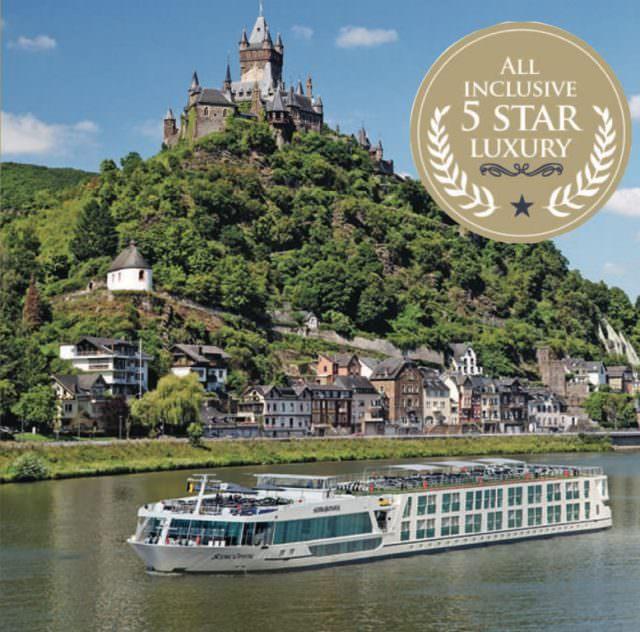 5 Star Luxury River Cruises Through Eurooe: Scenic Cruises, Christening Scenic Jasper & A Danube Cruise