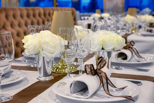 Dining Detail. The Habsburgs would be proud! Photo courtesy of Uniworld Boutique River Cruise Collection.