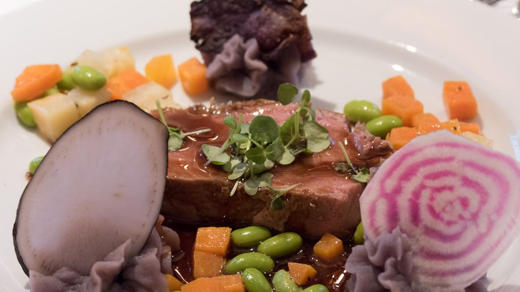 I am a fan of the food on Loire Princesse. © 2015 Ralph Grizzle