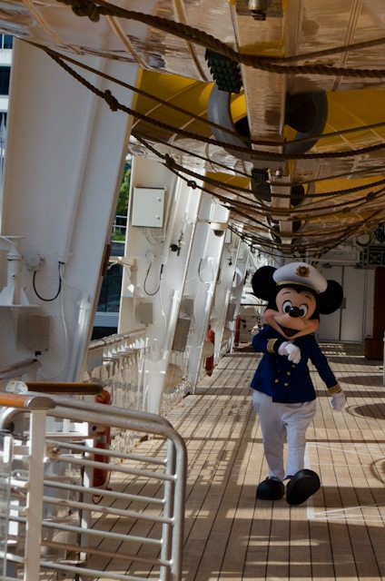 While Captain Mickey won't be onboard like he is on Disney's oceangoing ships, Adventures by Disney will provide the same level of dedication and service to travellers of all ages in their partnership with AmaWaterways. Photo © 2014 Aaron Saunders