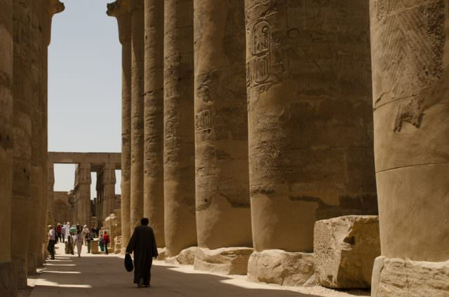 Avalon Waterways is increasing their focus on exotic river cruises next year, with a return to Egypt. Shown here is Luxor Temple in Luxor, Egypt. Photo © 2015 Aaron Saunders