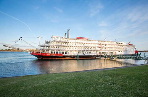 American Queen Steamboat Company is also offering special deals along the Columbia & Snake Rivers aboard American Empress. Photo courtesy of American Queen Steamboat Company.