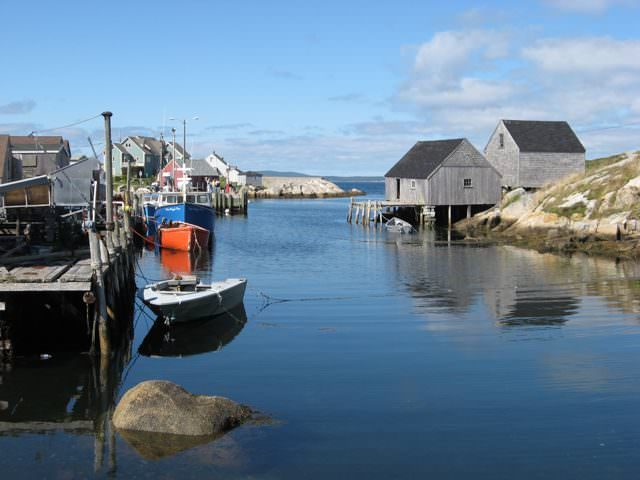 in Halifax, guests can explore picturesque Peggy's Cove. Photo © Aaron Saunders