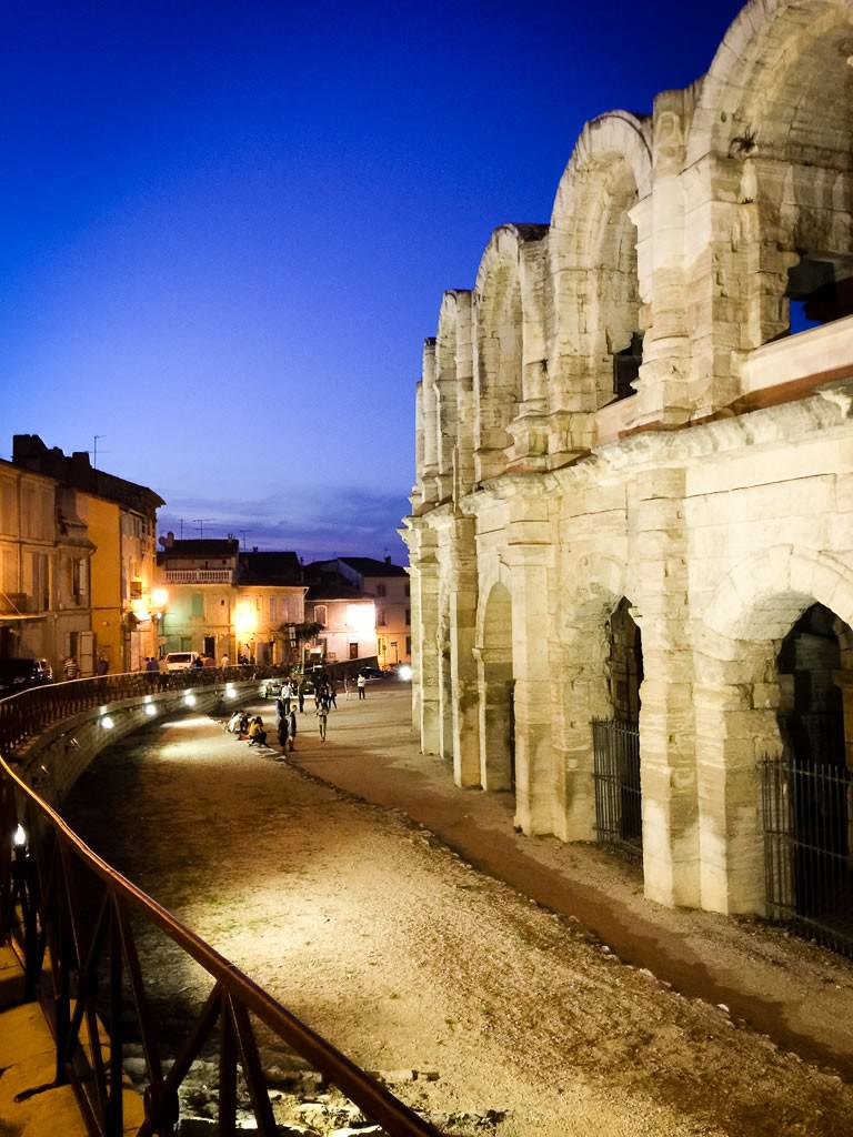 The Roman arena in Arles. © 2015 Ralph Grizzle