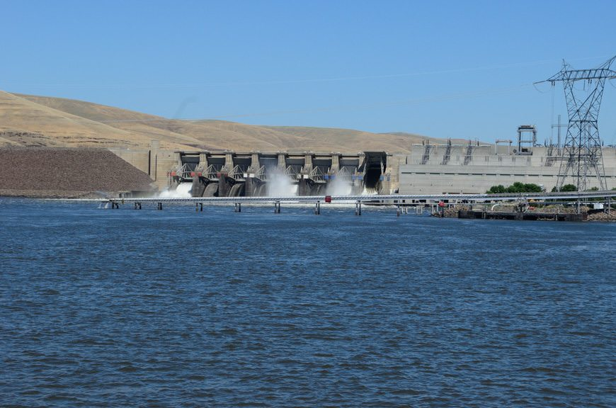 More locks, and more hydroelectric dams! Photo © 2015 Aaron Saunders