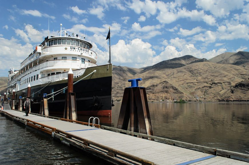 The gorgeous S.S. Legacy at her berth in Clarkston, WA. Photo © 2015 Aaron Saunders
