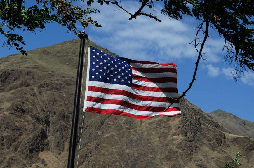 Americana. Photo © 2015 Aaron Saunders
