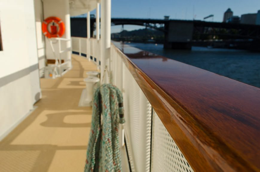 Welcome aboard! The S.S. Legacy is in fantastic condition. Photo © 2015 Aaron Saunders
