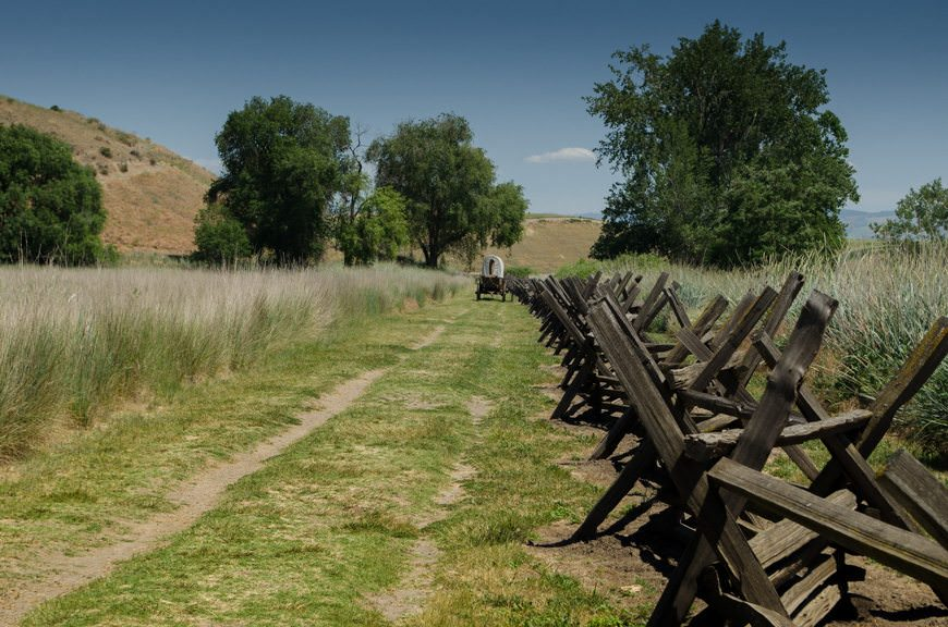On the Oregon Trail at the Whitman Mission. Photo © 2015 Aaron Saunders