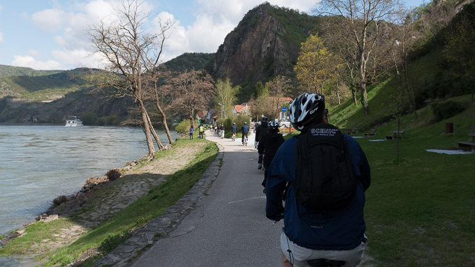 Scenic Jasper's electric-assist bikes made pedaling from Durnstein to Melk easy. © 2015 Ralph Grizzle
