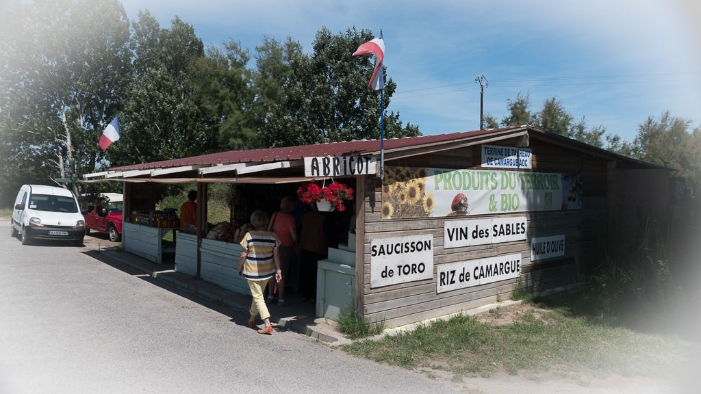 On our way back to the barge, we stopped at a small shop that sold local goods, such as the local wine, herbs and ... © 2015 Ralph Grizzle