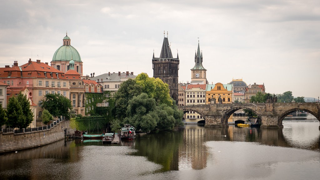 Prague's Old Town and the Charles Bridge