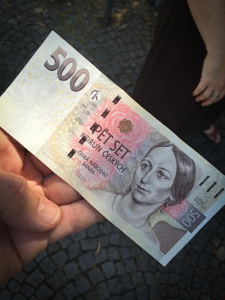 Czech note