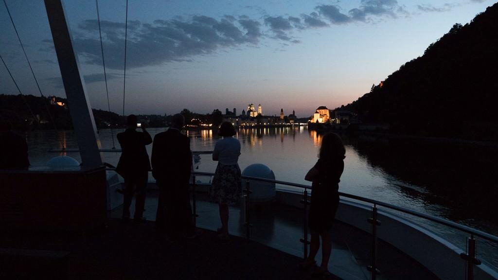 Approaching Passau