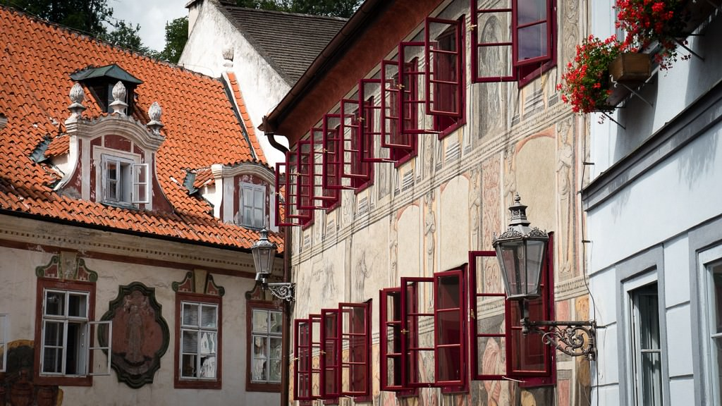Just point and shoot in Cesky Krumlov. © 2015 Ralph Grizzle